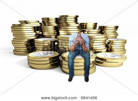 Desperate Man On 3D Euro