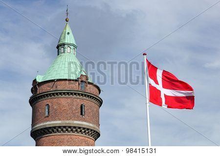 Water tower in Aarhus, Denmark
