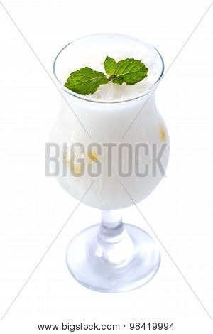 A Glass Of Indian Lassi
