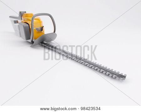 3d render of a hedge trimmer