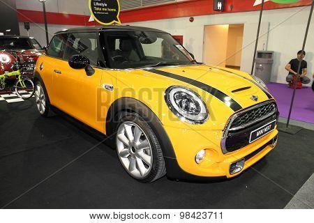 Bangkok - August 4: Mini Next Car On Display At Big Motor Sale On August 4, 2015 In Bangkok, Thailan