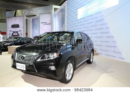Bangkok - August 4: Lexus Rx270 Car On Display At Big Motor Sale On August 4, 2015 In Bangkok, Thail