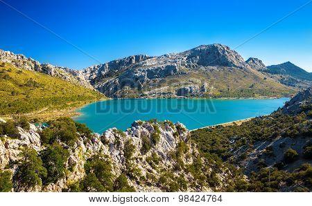Cuber Lake In Majorca