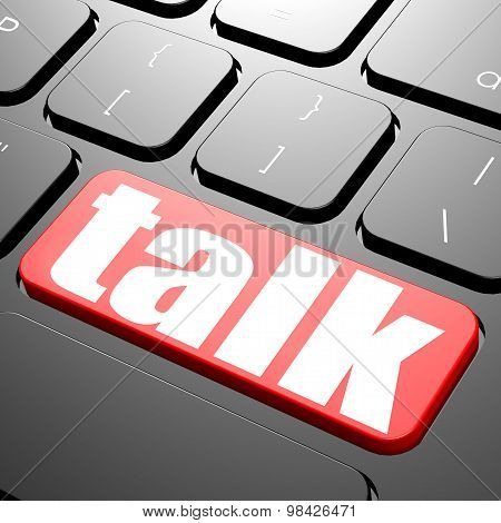 Keyboard With Talk Text