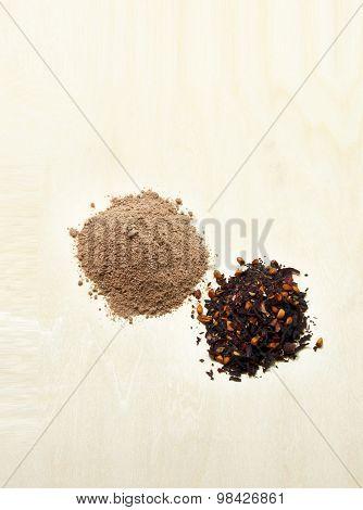 Cocoa, Tea, Flour