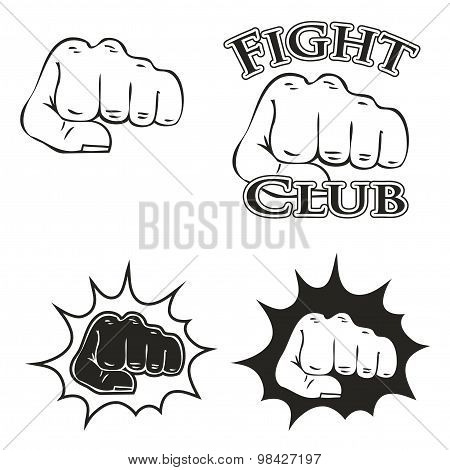 logos with the image of a fist