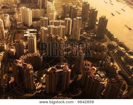 Paisaje urbano de Shanghai