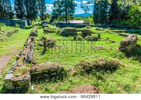 Remains Of Roman Villa Rustica That Dates From The Early Fourth Century In Bosnia And Herzegovina