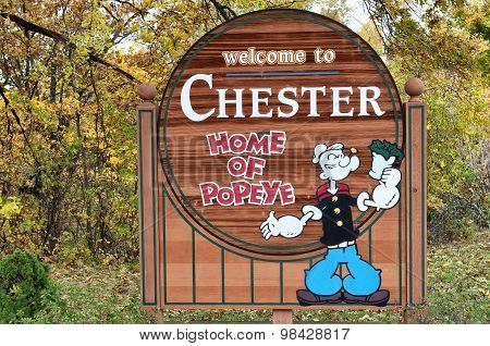 Chester Illinois Home Of Popeye
