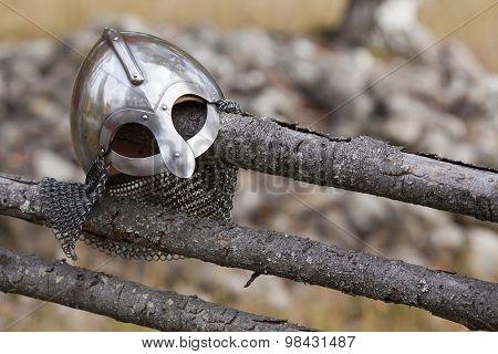 Steel Viking Knight helmet