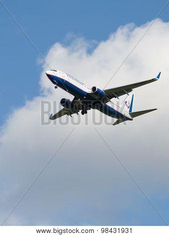 Passenger Plane Boeing 737