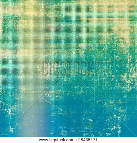 Beautiful antique vintage background. With different color patterns: yellow (beige); blue; cyan; green