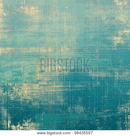 Grunge texture, may be used as background. With different color patterns: yellow (beige); gray; blue; cyan