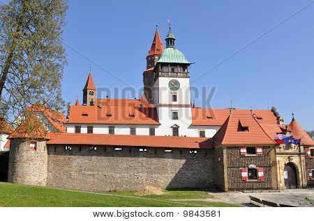 stronghold Bouzov, Czech