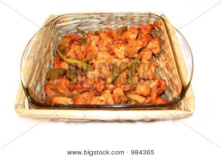 Spicy Indian Style Chicken Dish