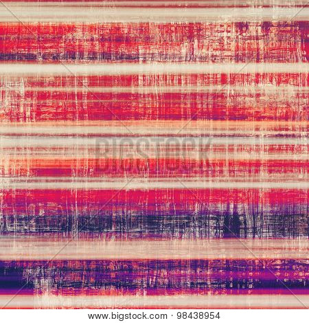Rough grunge texture. With different color patterns: yellow (beige); red (orange); purple (violet); pink