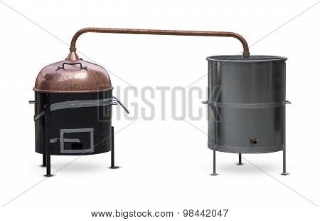 Brandy Distillation Boiler