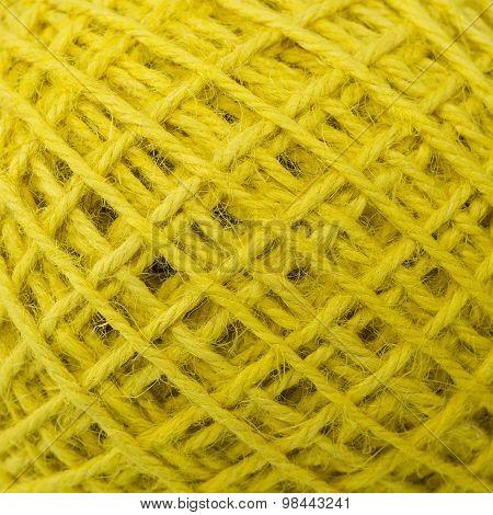 yellow hemp rope texture