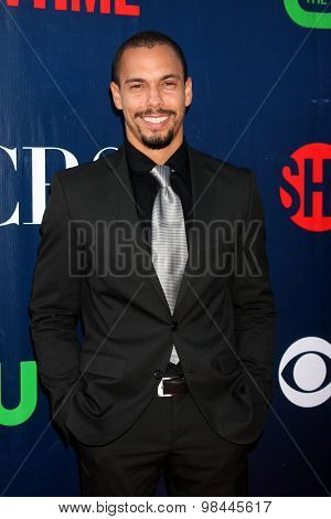 LOS ANGELES - AUG 10:  Bryton James at the CBS TCA Summer 2015 Party at the Pacific Design Center on August 10, 2015 in West Hollywood, CA