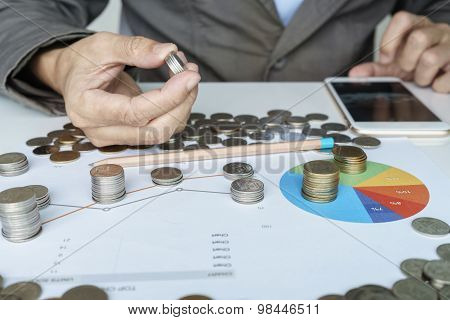 Planning Money Investment In Chart