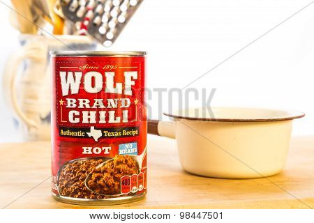 Hot Chili No Beans
