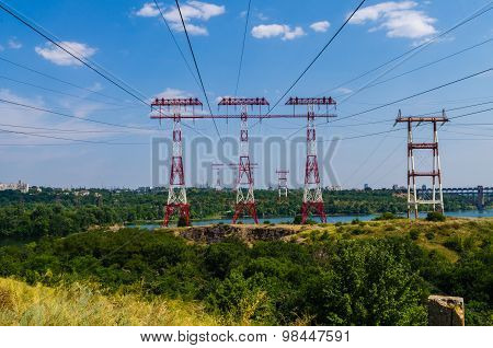 High-voltage Power Line