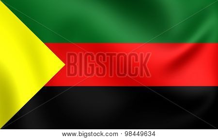 National Movement For The Liberation Of Azawad Flag