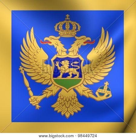 Naval Jack Of Montenegro