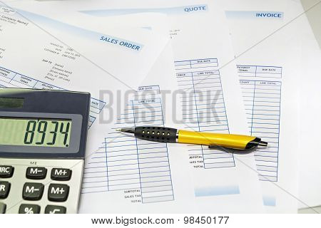 Business Sale Order Document