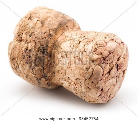 Cork isolated on a white background.