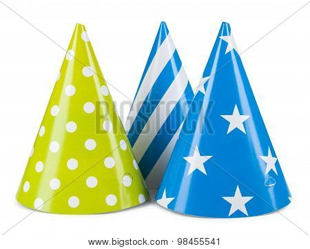 Party Hat Isolated On A White Background