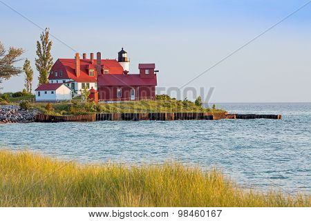 Point Betsie Light And Fog Horn