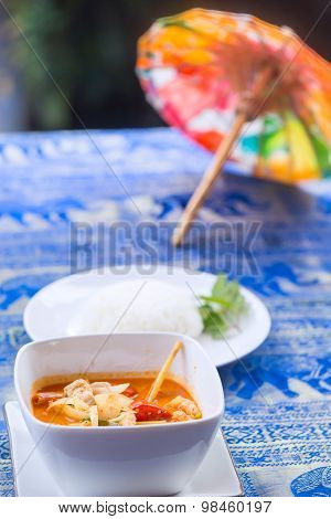 Tom Yum Goong Soup - Thai The Most Famous Dish