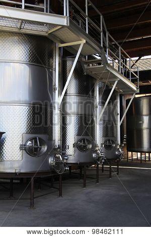 Modern Aluminum Barrels