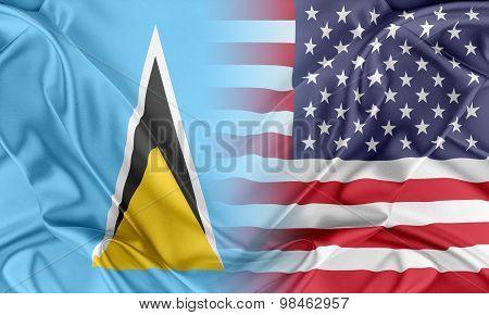 USA and Saint Lucia