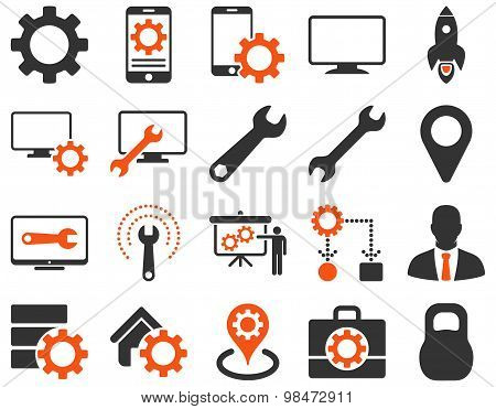 Settings and Tools Icons