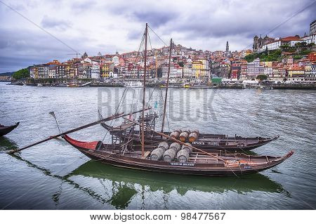 Two Boats On The Douro River