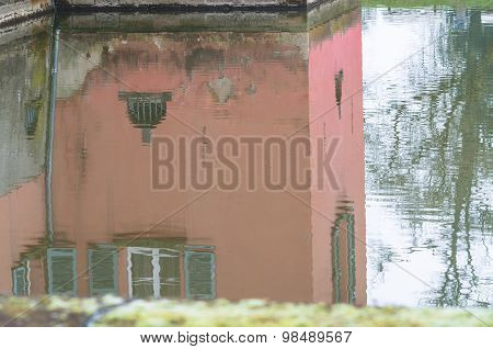 Mirror Image Of A House