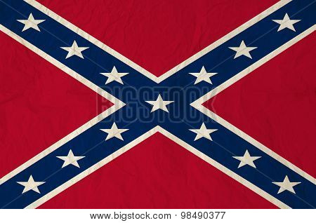 Battle Flag Of The Confederate States Of America