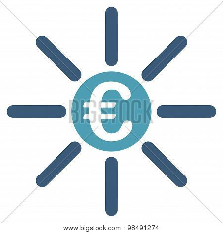 Distribution icon from BiColor Euro Banking Set