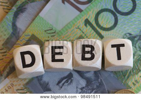 Debt Signage