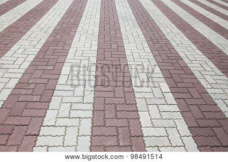 Brick Stone Street Road, Pavement Texture