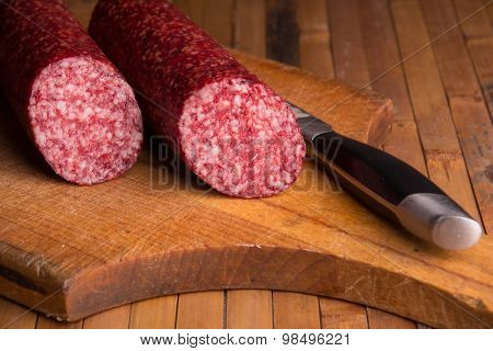 Still Life With  Sausage