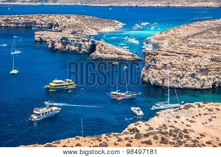 Blue Lagoon At Comino - Malta