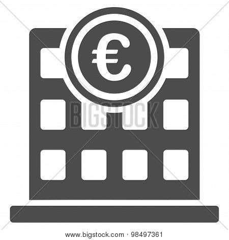 Company building icon from BiColor Euro Banking Set