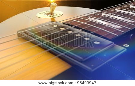 Electric Guitar Abstract