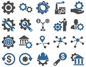 Settings and Tools Icons poster