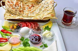 stock photo of breakfast  - alternative breakfast menu - JPG