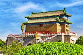 picture of gate  - Beautiful Zhengyangmen Gate  - JPG