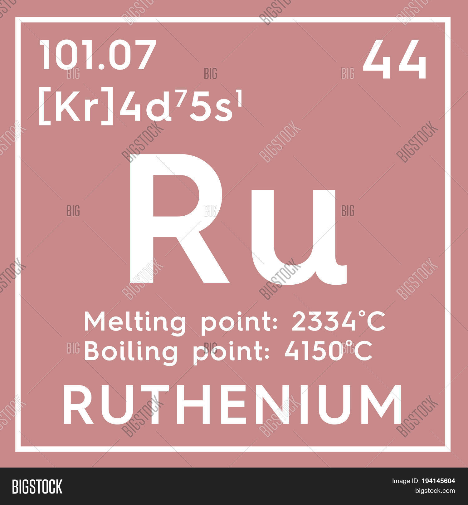 Ruthenium transition metals chemical element of mendeleevs ruthenium transition metals chemical element of mendeleevs periodic table ruthenium in square cube gamestrikefo Choice Image